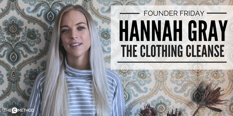 Hannah Gray The Clothing Cleanse Christina Canters The C Method Fashion Wardrobe Stylist Consulting