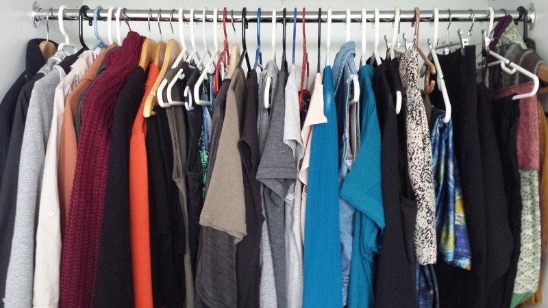 Christina Canters The C Method my wardrobe after Clothing Cleanse