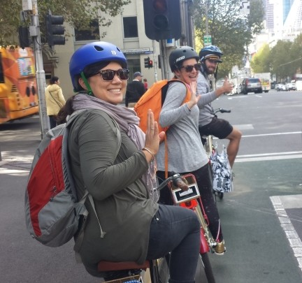 Bike Tours Melbourne with The Cycle Tour Co Christina Canters the C Method