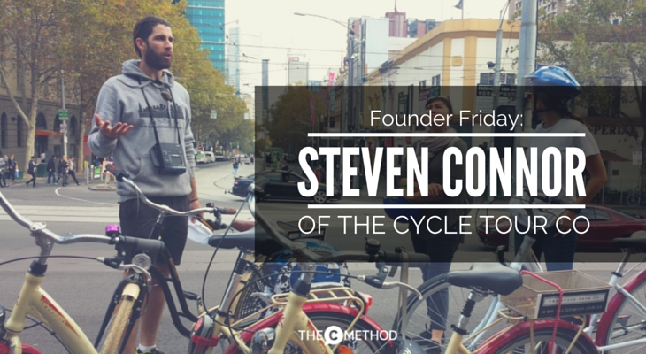 Steven Connor Cycle Tour Co Melbourne Bike Tour Christina Canters The C Method Founder Friday