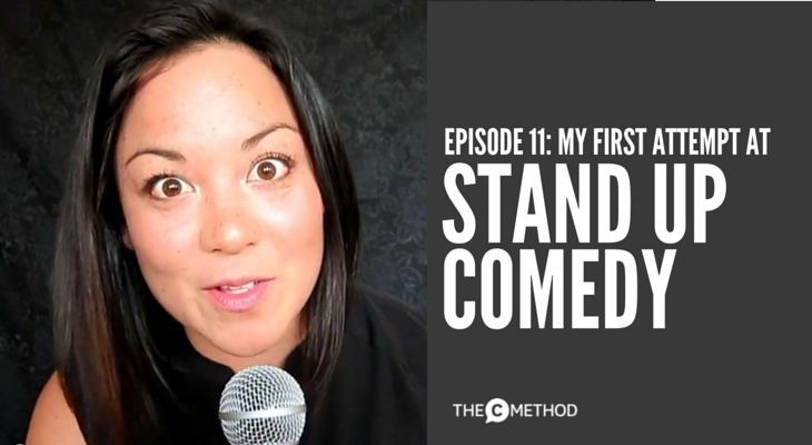 Christina Canters stand Up comedy new york city the c method stand out get noticed