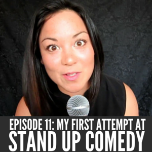 Christina Canters NYC standup comedy podcast episode 11 Stand Out Get Noticed