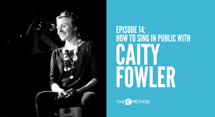 caity fowler christina canters singing lesson the c method podcast playwrite band