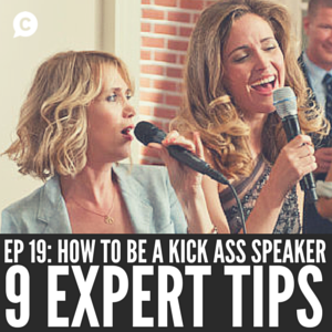CHRISTINA CANTERS KICK ASS SPEAKER THE C METHOD PODCAST PUBLIC SPEAKING COMMUNICATION