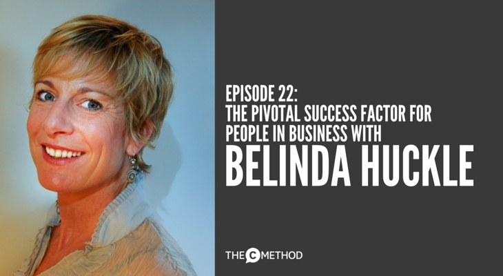 executive training Belinda Huckle secondnature presentation training christina canters the c method podcast success business