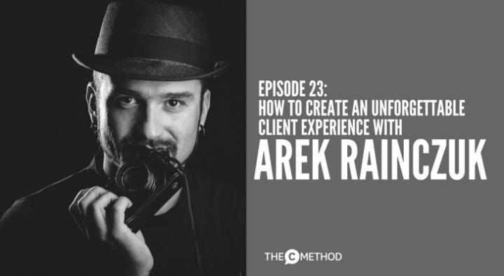 Arek Rainczuk portrait photographer five castles interview Christina Canters The C Method