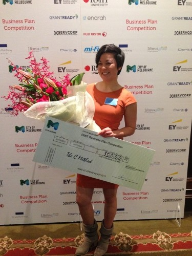 christina_canters_the_c_method_RMIT business plan competition 2015