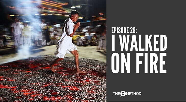 tony robbins the c method christina canters firewalk hot coals podcast