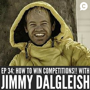 Creative Ways to Win Online Competitions with Jimmy Dalgleish [Episode 34]