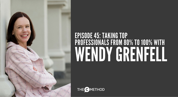 Wendy Grenfell Elgin Hall podcast guest with Christina Canters of The C Method