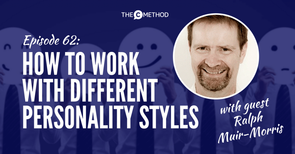 PERSONALITY styles workplace communication christina canters confidence engagement
