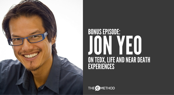 Jon Yeo tedx melbourne curator on life and near death experiences with Christina Canters ted talk public speaking