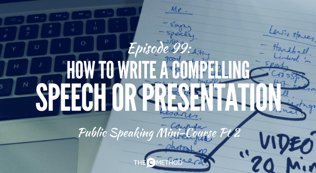 write a compelling presentation christina canters the c method public speaking