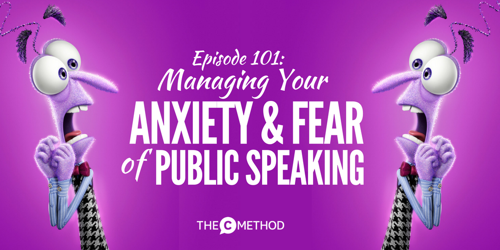 public speaking nerves fear anxiety overcome christina canters the c method