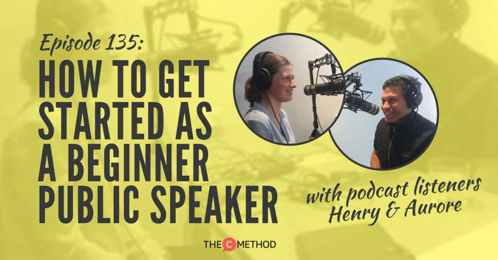 toastmasters public speaking christina canters podcast