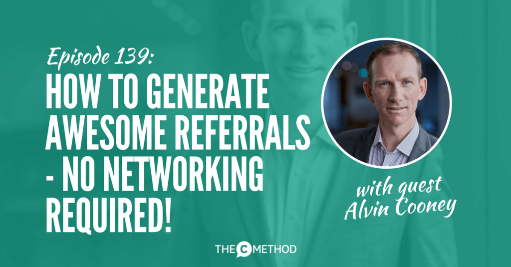 alvin cooney asentiv referral marketing