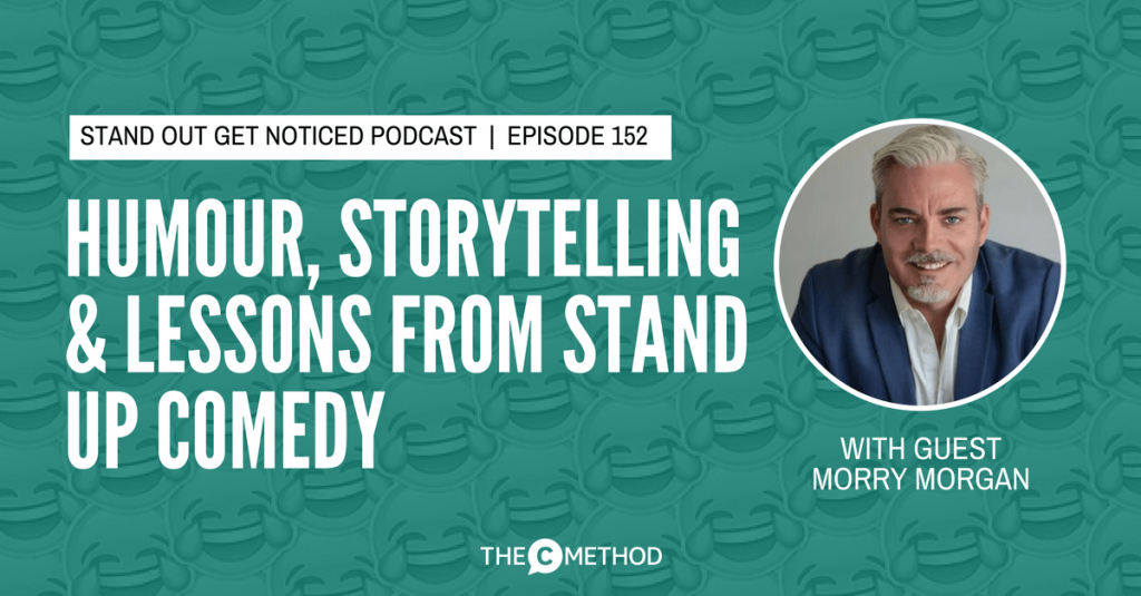 humour business presentation skills standup christina canters the c method podcast