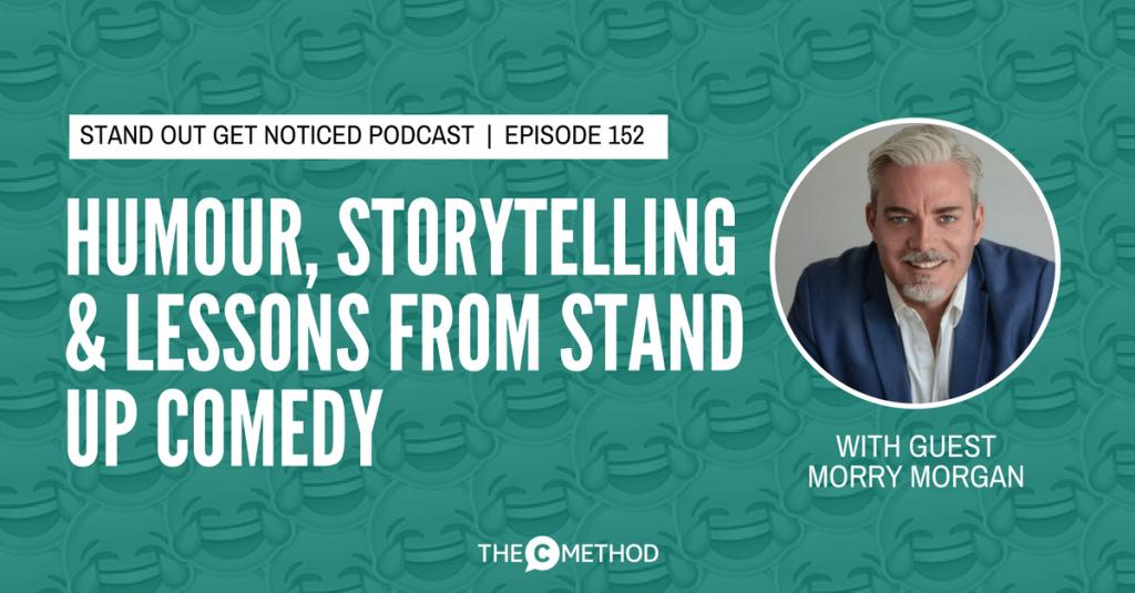 humour business presentation skills standup christina canters the c method podcast