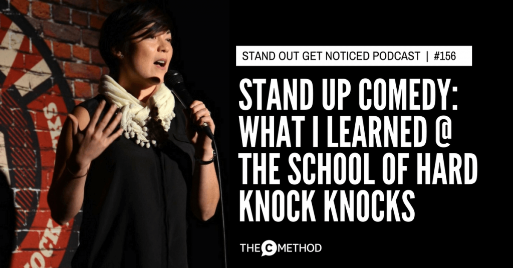 stand up comedy course melbourne with the school of hard knock knocks christina canters the c method podcast