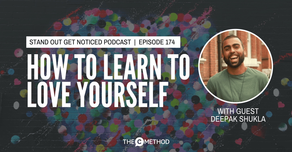 deepak shukla christina canters the c method podcast stand out get noticed communication skills confidence