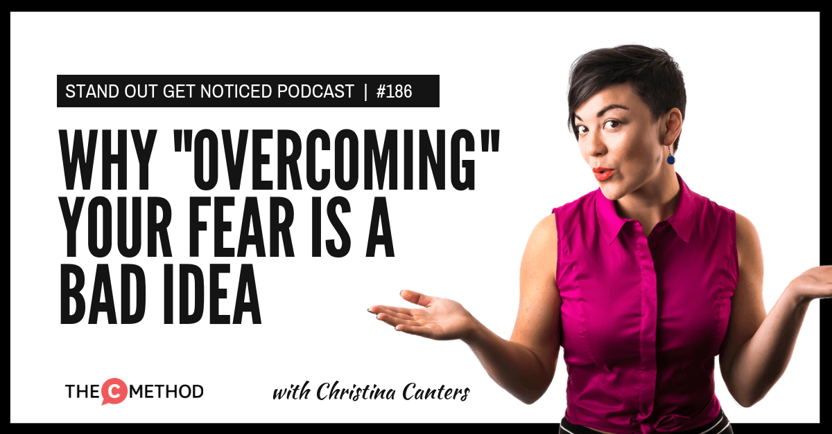 christina canters the c method podcast fear public speaking