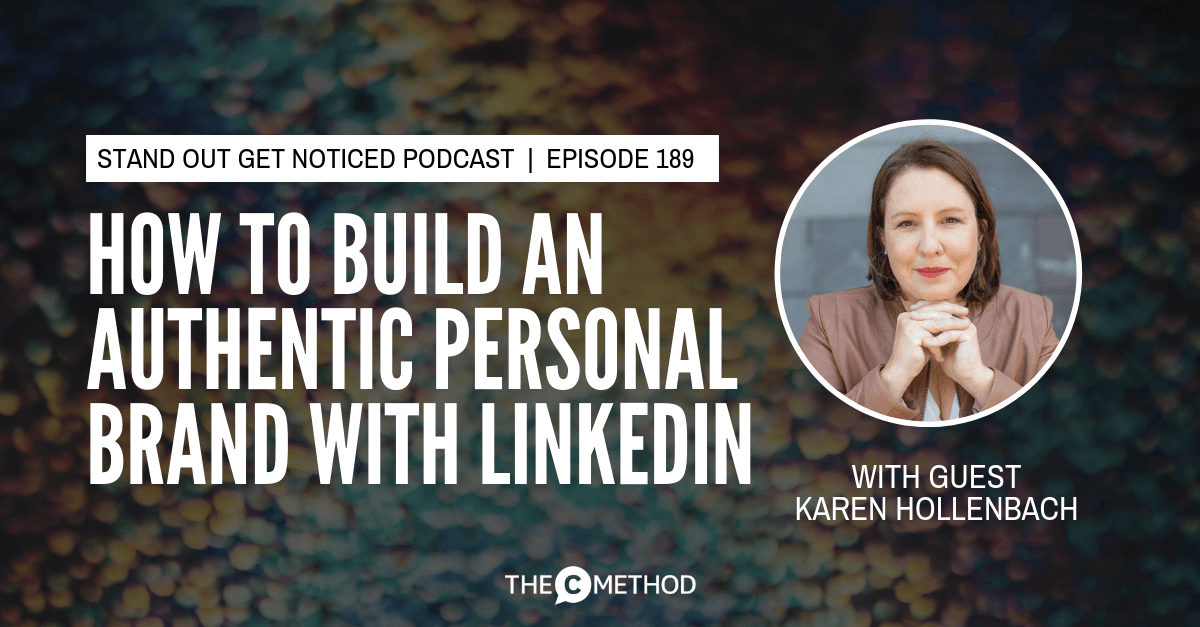 karen hollenbach build your personal brand linkedin thought leadership