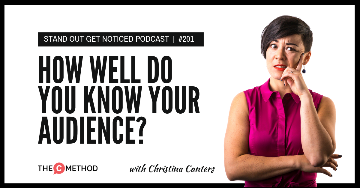 audience public speaking the c method christina canters podcast stand out get noticed