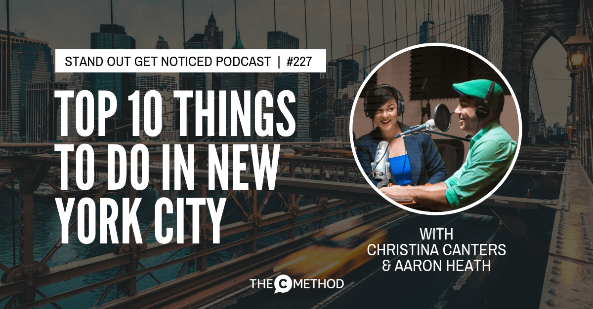 Christina Canters, The C Method, Podcast, Communication, Confidence, Public Speaking, Personal Development