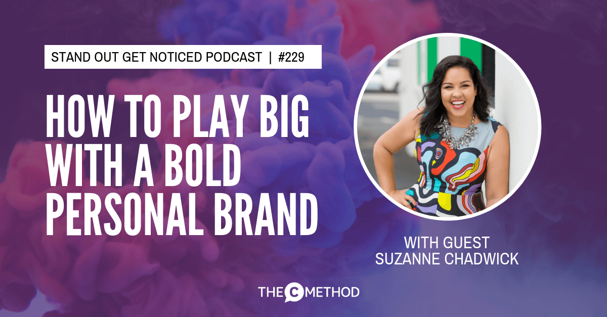 Christina Canters, The C Method, Podcast, Communication, Confidence, Public Speaking, Personal Development, Suzanne Chadwick, Personal Branding