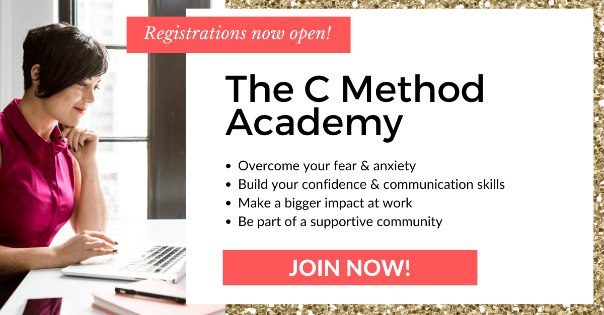 communication skills confidence leadership program the c method academy christina canters
