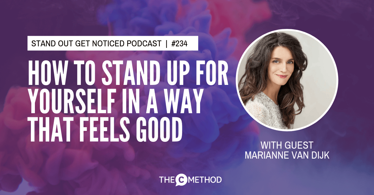 Christina Canters, The C Method, Podcast, Communication, Confidence, Public Speaking, Personal Development, Nonviolent Communication