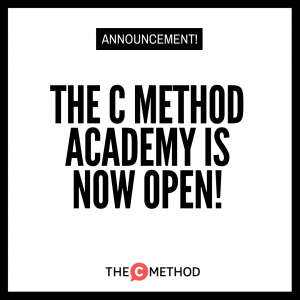 The C Method Academy is now OPEN! Registrations close THIS FRIDAY!