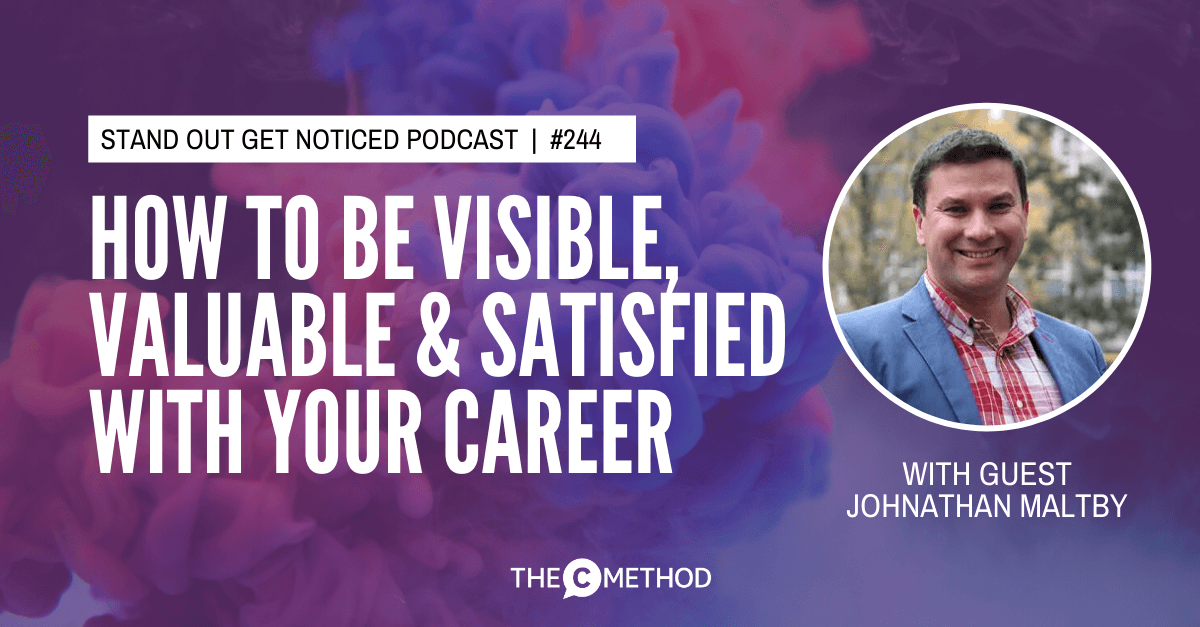 John Maltby personal brand career coach consultant