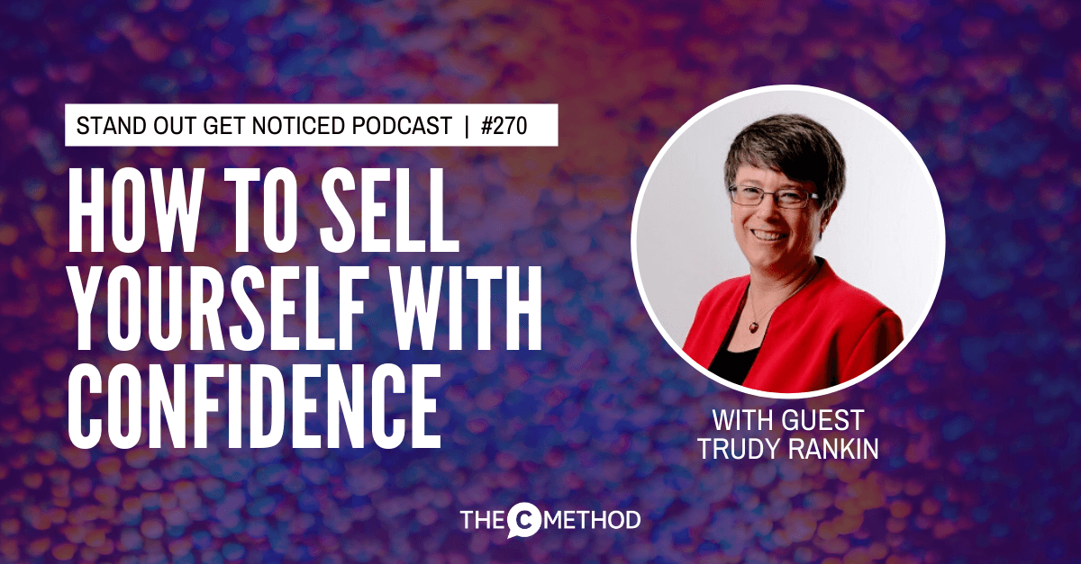 Christina Canters, The C Method, Podcast, Communication, Confidence, Public Speaking, Personal Development, Selling