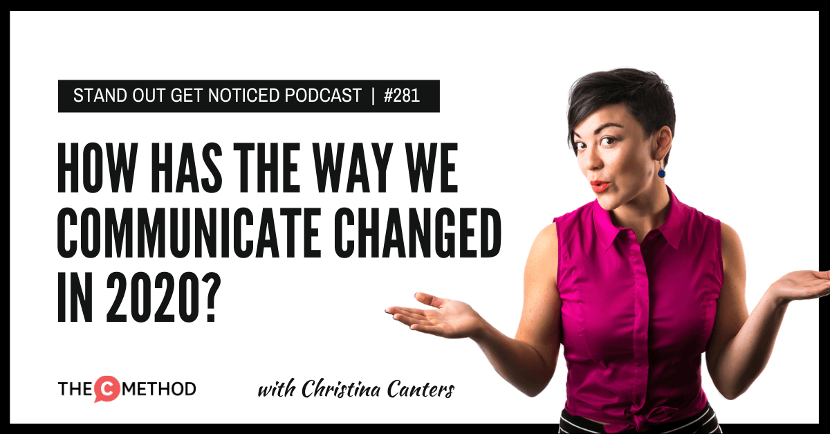 Christina Canters, The C Method, Podcast, Communication, Confidence, Public Speaking, Personal Development, Way we communicate